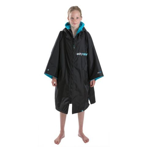 Dryrobe Advance Changing Robe Short Sleeve for Kids XS