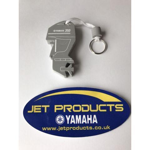 Yamaha F350 Outboard Floating Keyring