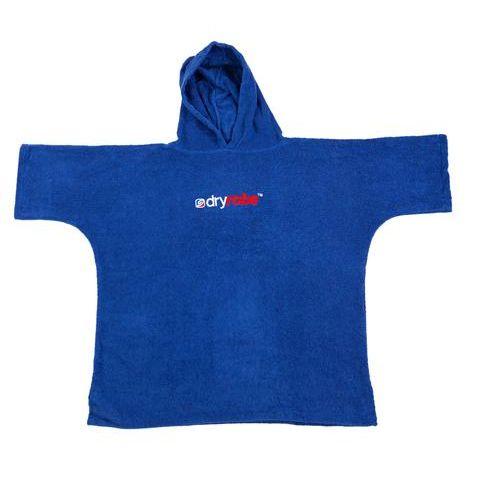 Dryrobe Kids Organic Changing Robe Age 5 to 9 Cobalt Blue