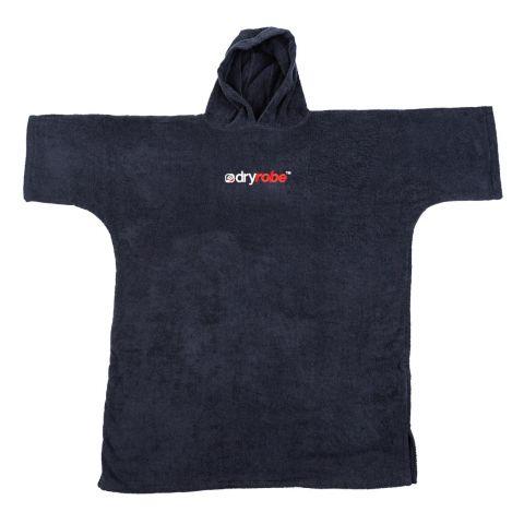 Dryrobe Organic Towel Changing Robe Large Black