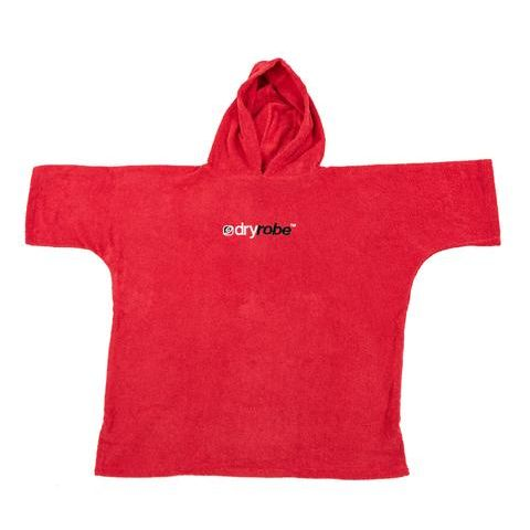 Dryrobe Organic Towel Changing Robe Large Red