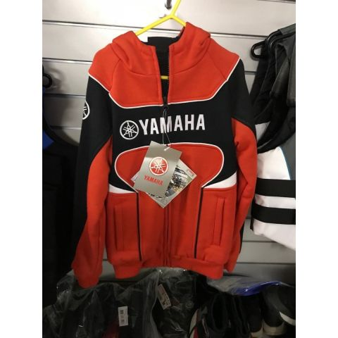 Yamaha Classic Kids Hoody Red - Age 7/8