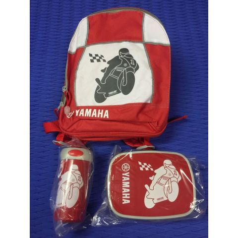 Yamaha Kids Back Pack and Lunch Kit Set