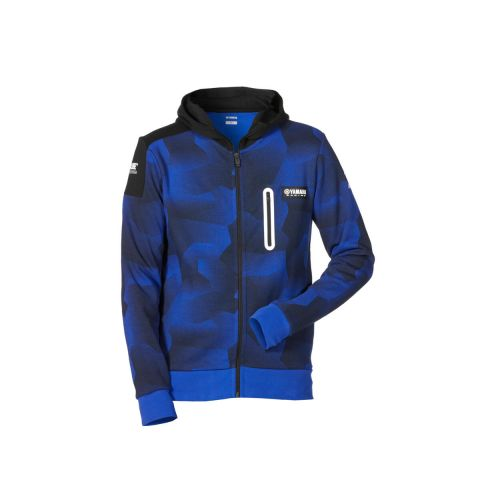 Yamaha Paddock Blue Men's Camo Hoody